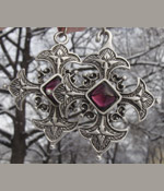 Cross Cloak Brooch