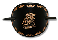 Dragon Leather Hair Slide