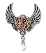 Valkyrie Heart Pendant