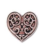 Valkyrie Heart Earrings