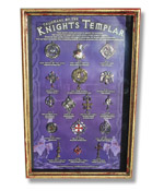 Talismans of the Knights Templar - Display