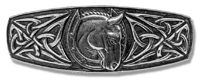 Celtic Horseshoe Barrette