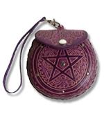 Pentagram Leather Purse