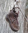 Leather Shoe Key Ring