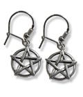 Pentagram (earrings)