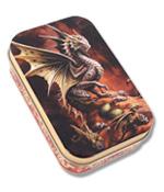 Desert Dragon Metal Tin
