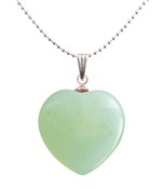 New Jade Heart Pendant