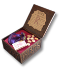 Wooden Display Box for Runes