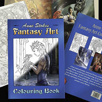 Anne Stokes Fantasy Art Colouring Book
