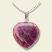 Heart Stone Pendants