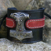 Celtic and Viking Leather Wristbands