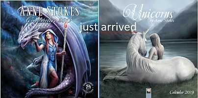 Anne Stokes Calendars 2019
