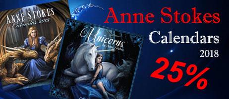 Anne Stokes Calendars 2018