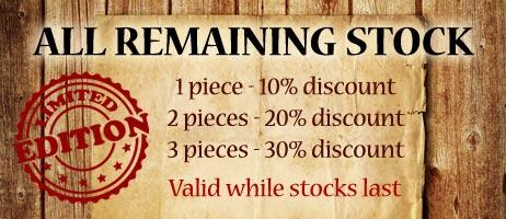 Lazell Historic - Remaining Stock